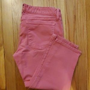 J. Crew Toothpick cropped pants
